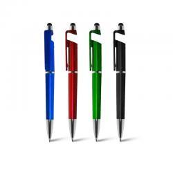 b4abc49cb Caneta Plastica com Porta Celular e Ponteira Touch Personalizado