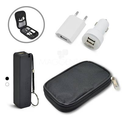 Kit Power Bank + Carregador para iPhone 5